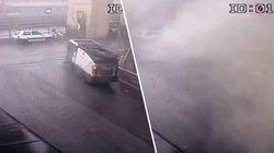 Genua: Neues Video zeigt, mit welcher Wucht die Brücke