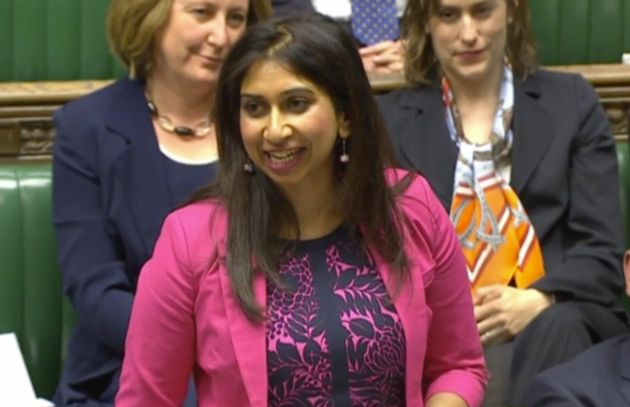 Brexit Minister Suella Braverman Urged To Distance Herself From Hard-Line