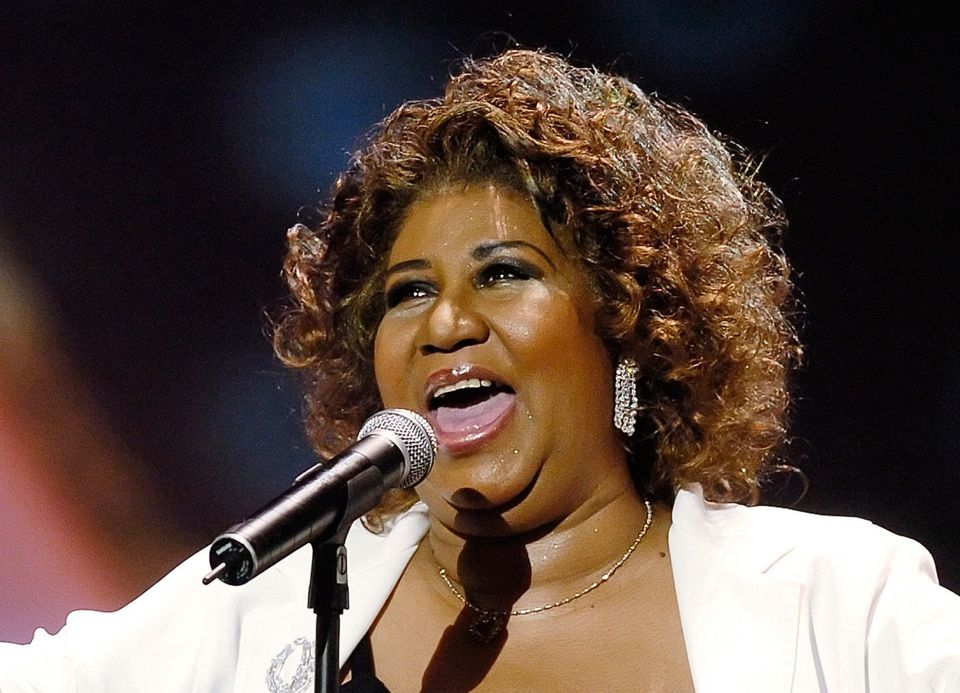 """Aretha Franklin, the undisputed """"Queen of Soul"""" whose powerhouse vocal cords revolutionized American music and ma"""