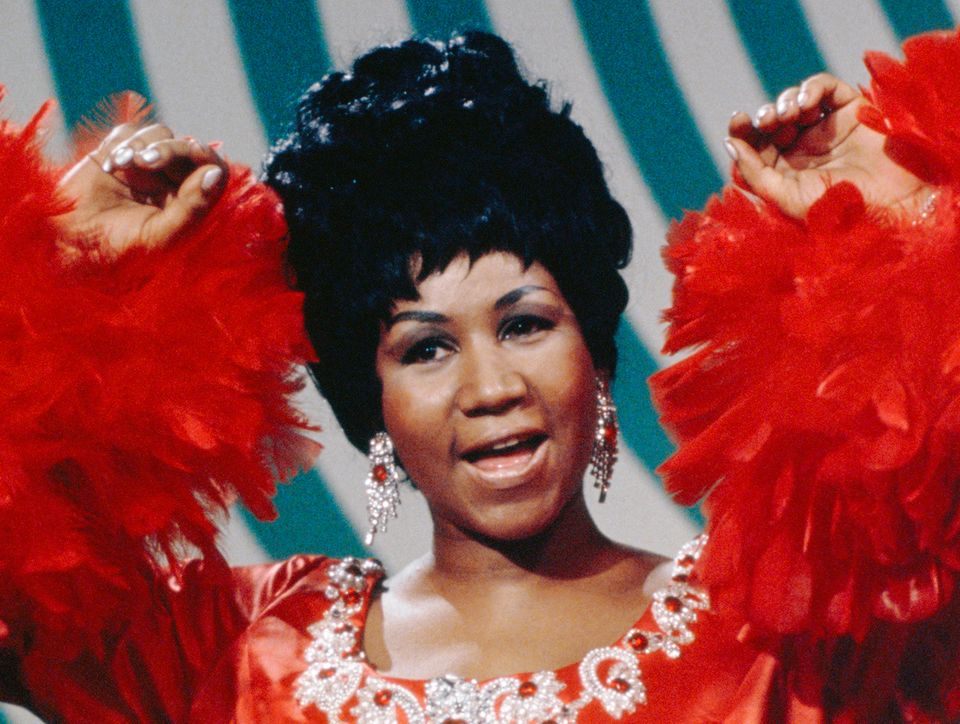 "Aretha Franklin, the undisputed ""Queen of Soul"" whose powerhouse vocal cords revolutionized American music and ma"