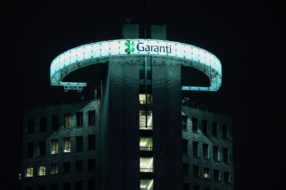 Eine Garanti-Bank in