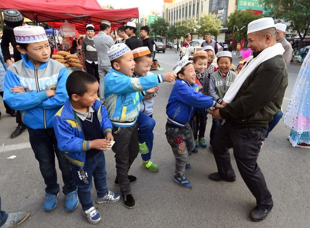 En chine aussi, les musulmans fêtent l'Aïd Al
