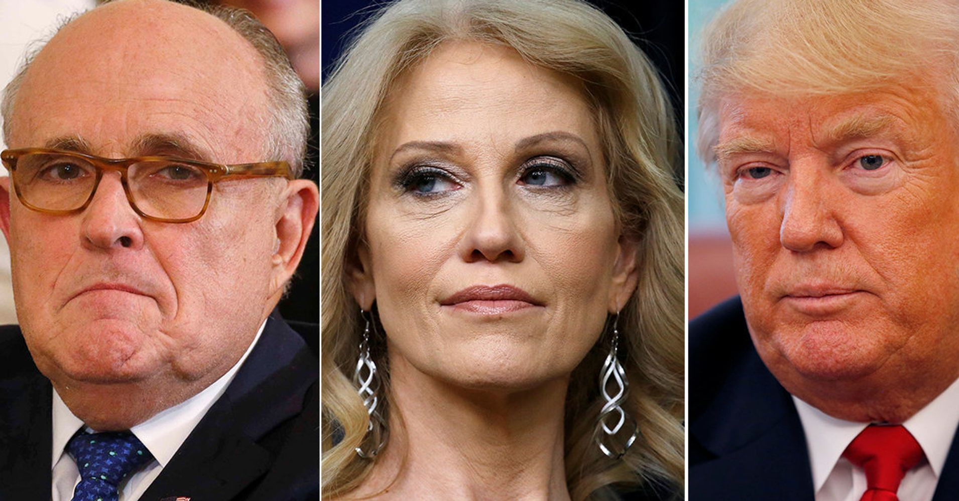 Montage Shows Trump's White House Waging War On Reality Again And Again