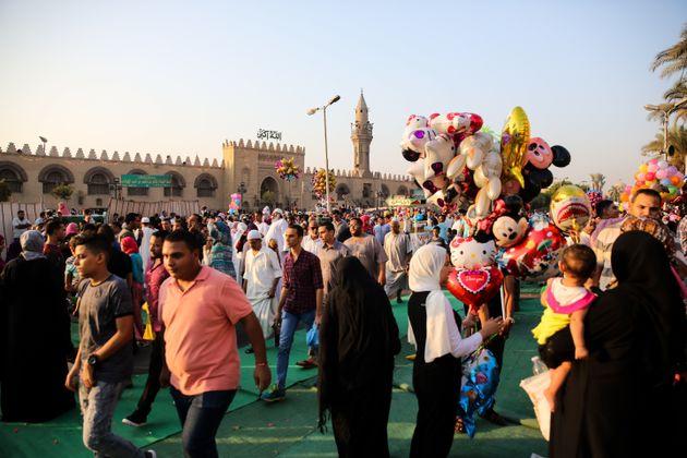 La joie de l'Aïd au Caire en
