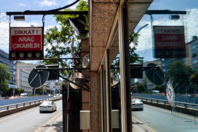 L'ambassade américaine visée par une attaque en