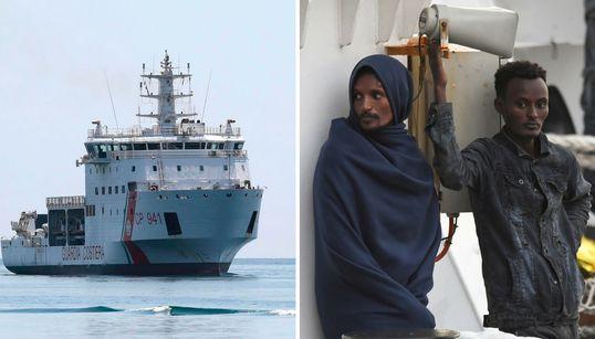 In Geiselhaft von Italiens Politik: Gerettete Flüchtlinge dürfen nicht an