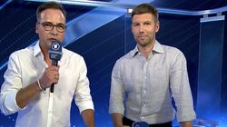 DFB-Boss Grindel lässt ARD-Interview platzen, Moderator reagiert verwundert auf