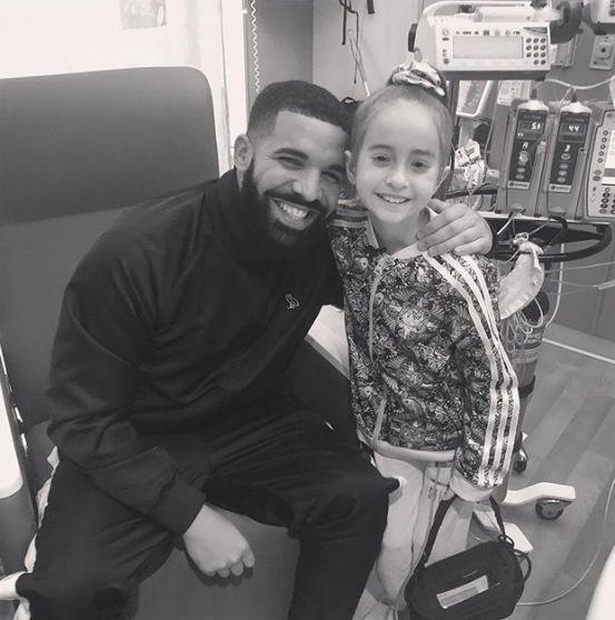 Drake Makes Surprise Visit To Girl In Hospital Waiting For Heart