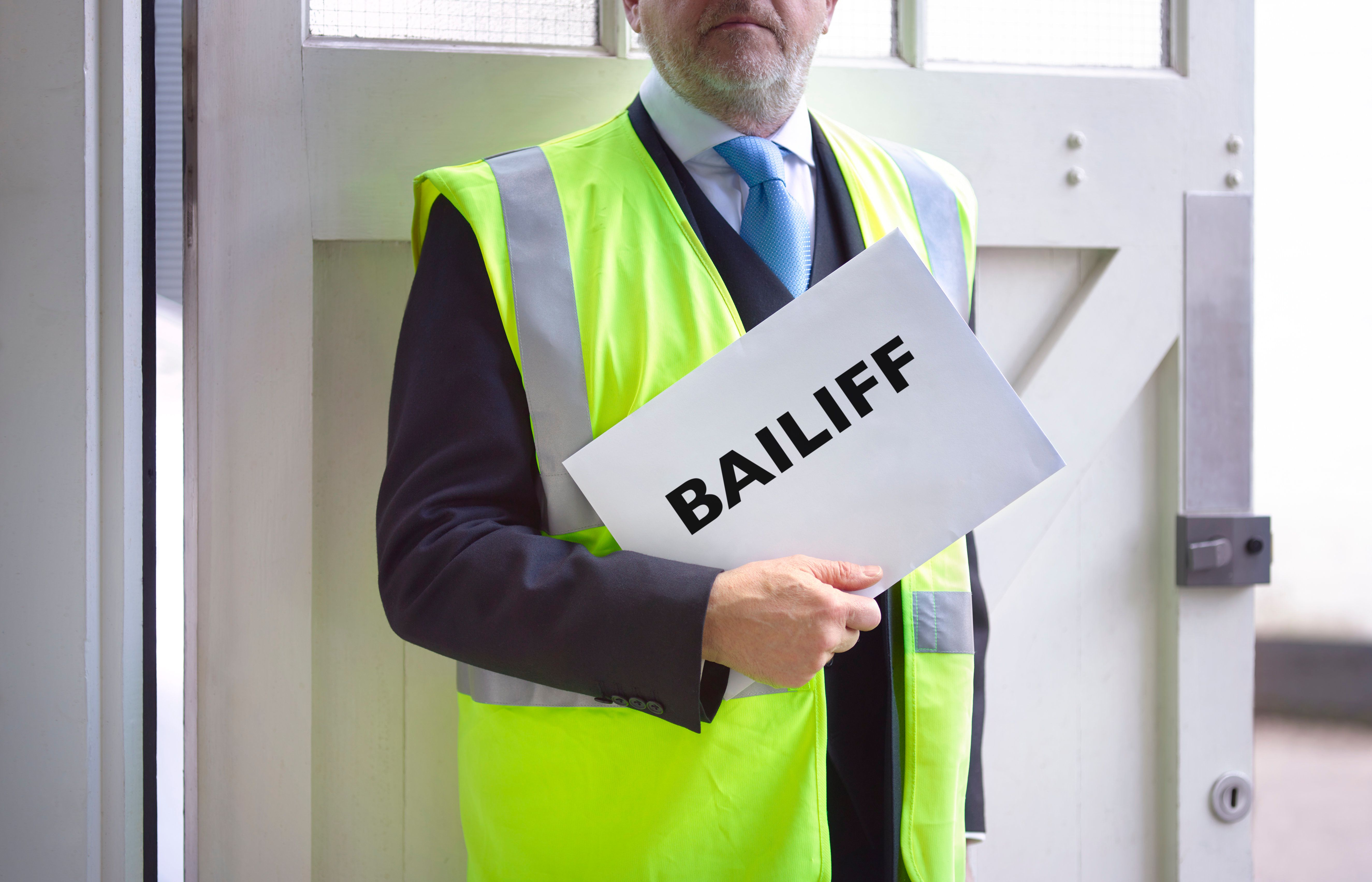 Bailiff Collections Have Risen: Here's What You Need To Know If You've Slipped Behind On
