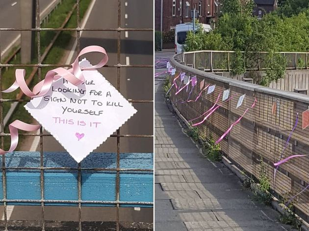 Woman's Heartfelt Notes On Motorway Bridges Have Helped Save 14
