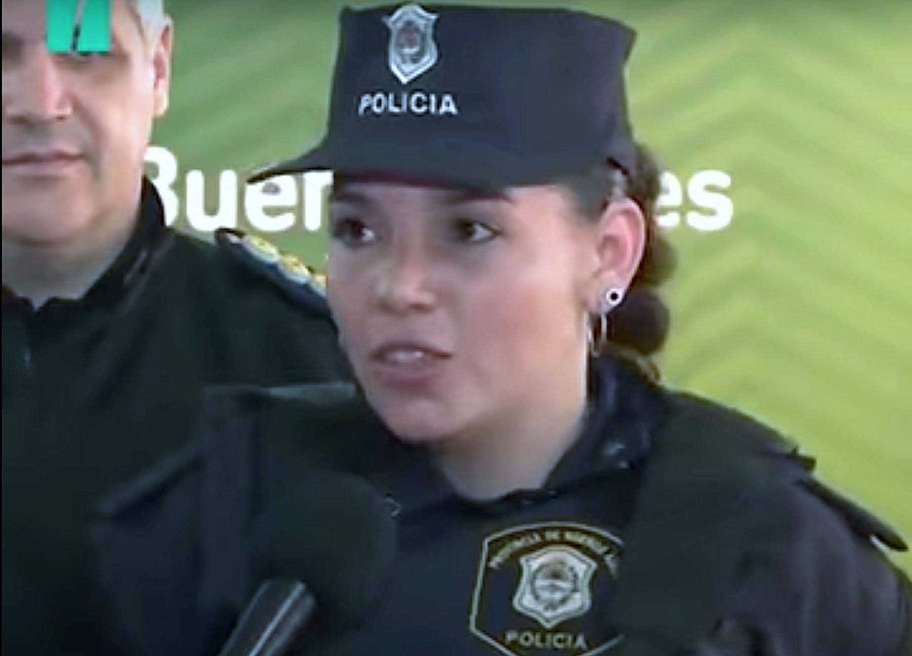 Police Officer Celeste Ayala