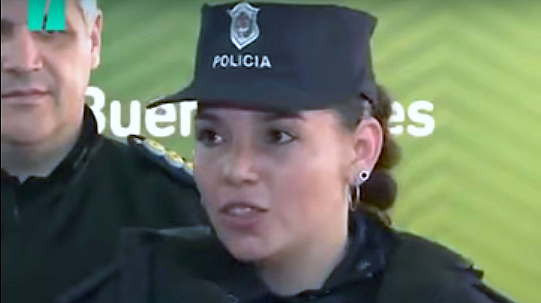 Police Officer On Duty At Argentina Hospital Breastfeeds Malnourished Baby