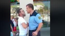 Mehrere Männer attackieren Polizisten mitten im Stadtzentrum von