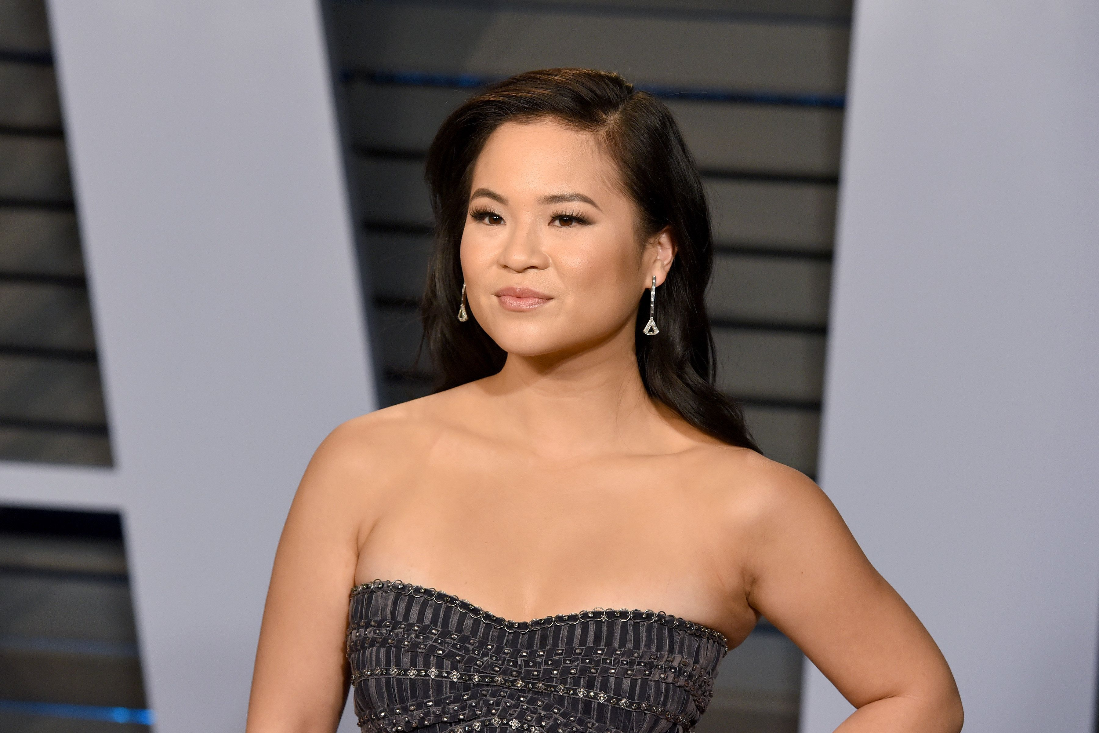 BEVERLY HILLS, CA - MARCH 04:  Kelly Marie Tran attends the 2018 Vanity Fair Oscar Party Hosted By Radhika Jones - Arrivals at Wallis Annenberg Center for the Performing Arts on March 4, 2018 in Beverly Hills, CA.  (Photo by Presley Ann/Patrick McMullan via Getty Images)