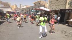 Ce flashmob à Tozeur vaut le détour