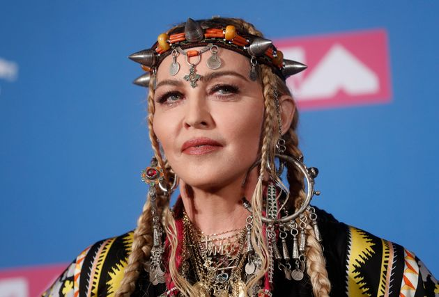 Madonna en tenue berbère aux MTV Video Music