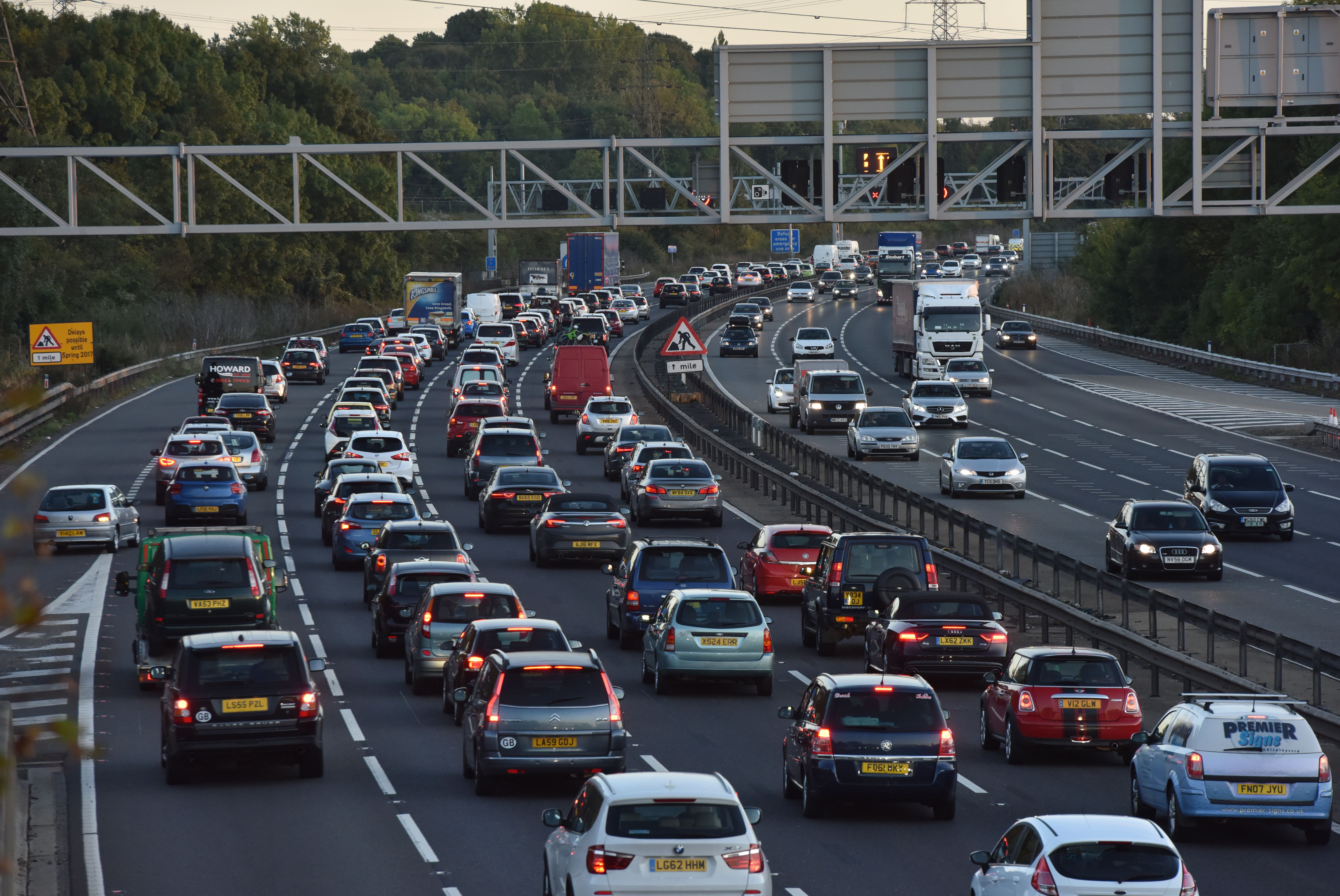 Drivers Warned Of 'Huge Potential For Gridlock' This Bank Holiday Weekend