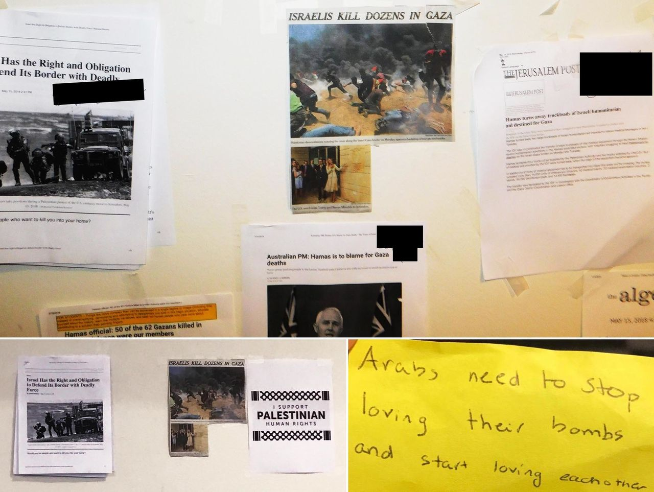 """""""Some have suggested that this wall was a healthy dialogue,"""" wrote Kelley Nicholson-Flynn, Riverdale's head of upper school, in an email to students and staff, """"while others have suggested that the anonymous postings were deeply problematic."""""""