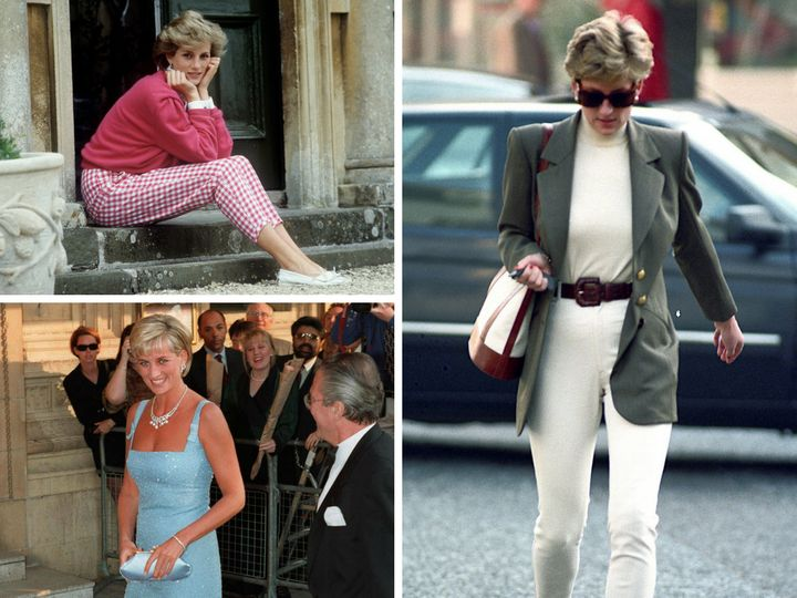 3 Vintage Princess Diana Looks And How To Get Them Now Huffpost Life