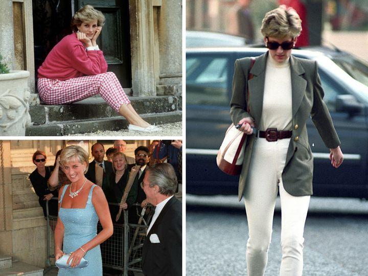 princess diana fashion casual