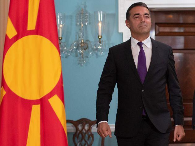 #Macedonia σκέτο για το Στέιτ Ντιπάρτμεντ στη συνάντηση Πομπέο-