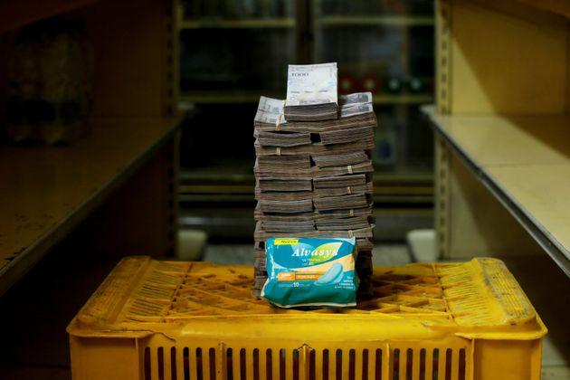 생리대의 가격은 350만