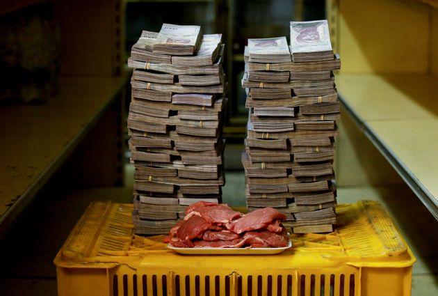고기 1kg에는 950만 볼리바르가