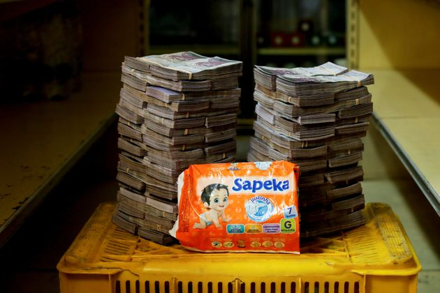 일회용 기저귀 한 봉지는 8백만