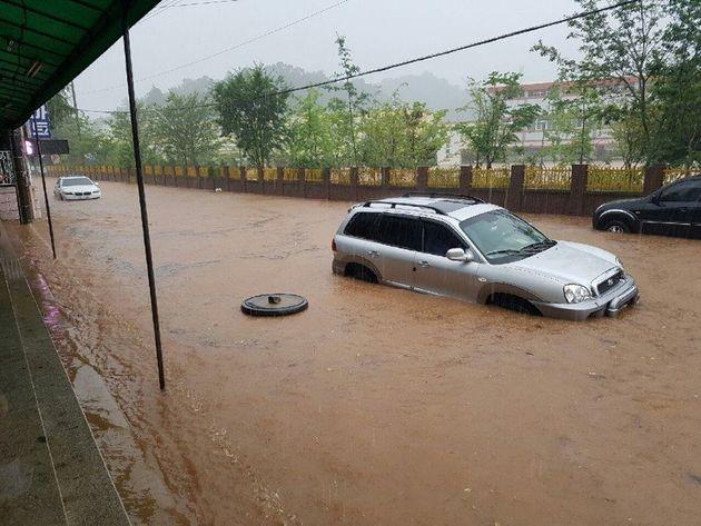 지난 7월 1일 전남 보성군에 자동 기상 관측장비(AWS) 기준 161.5㎜의 비가 쏟아져 침수 피해가 발생한