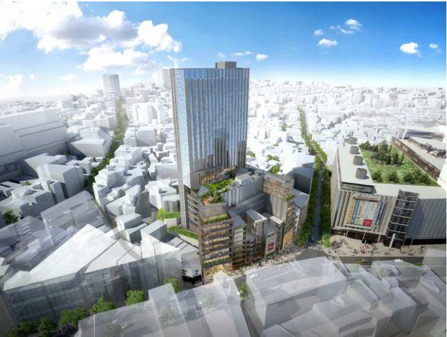 일본 돈키호테가 도쿄 시부야에 지상 28층 규모 쇼핑 콤플렉스를