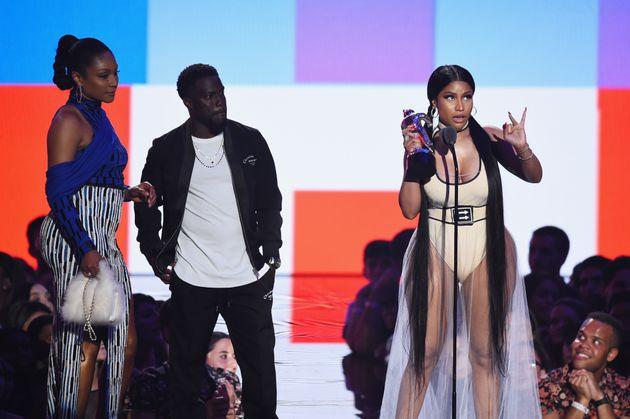 Nicki Minaj stook up for former 5H star Normani during her acceptance