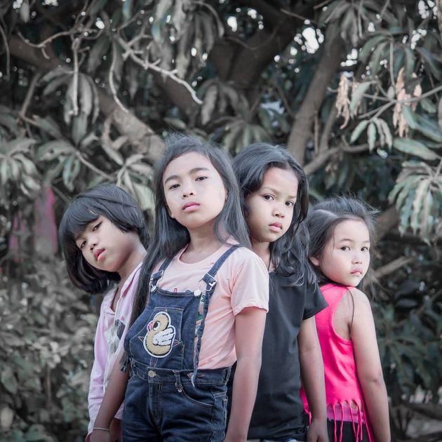 태국 아이들이 블랙핑크 '뚜두뚜두' MV를 재현했다