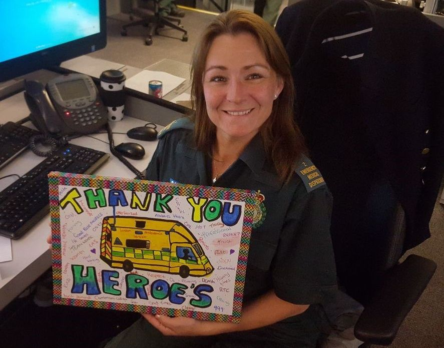Forget Nasty Notes, This Ambulance Service Is Averaging 100 Lovely Messages A