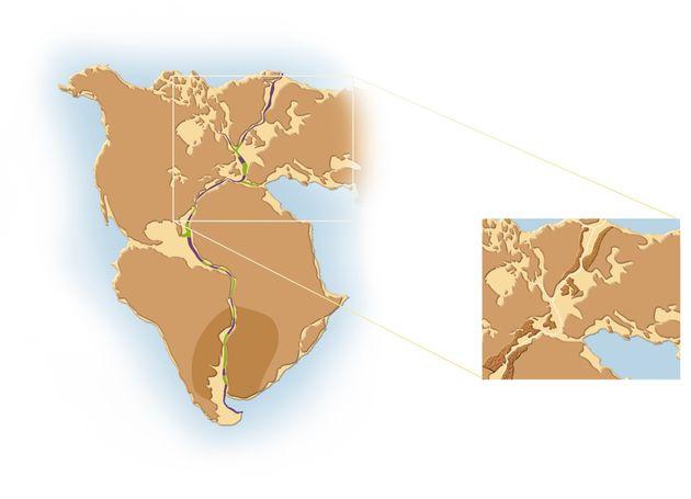 """La Nouvelle-Écosse et le Maroc étaient """"voisins"""" il y a 200 millions d'années..."""