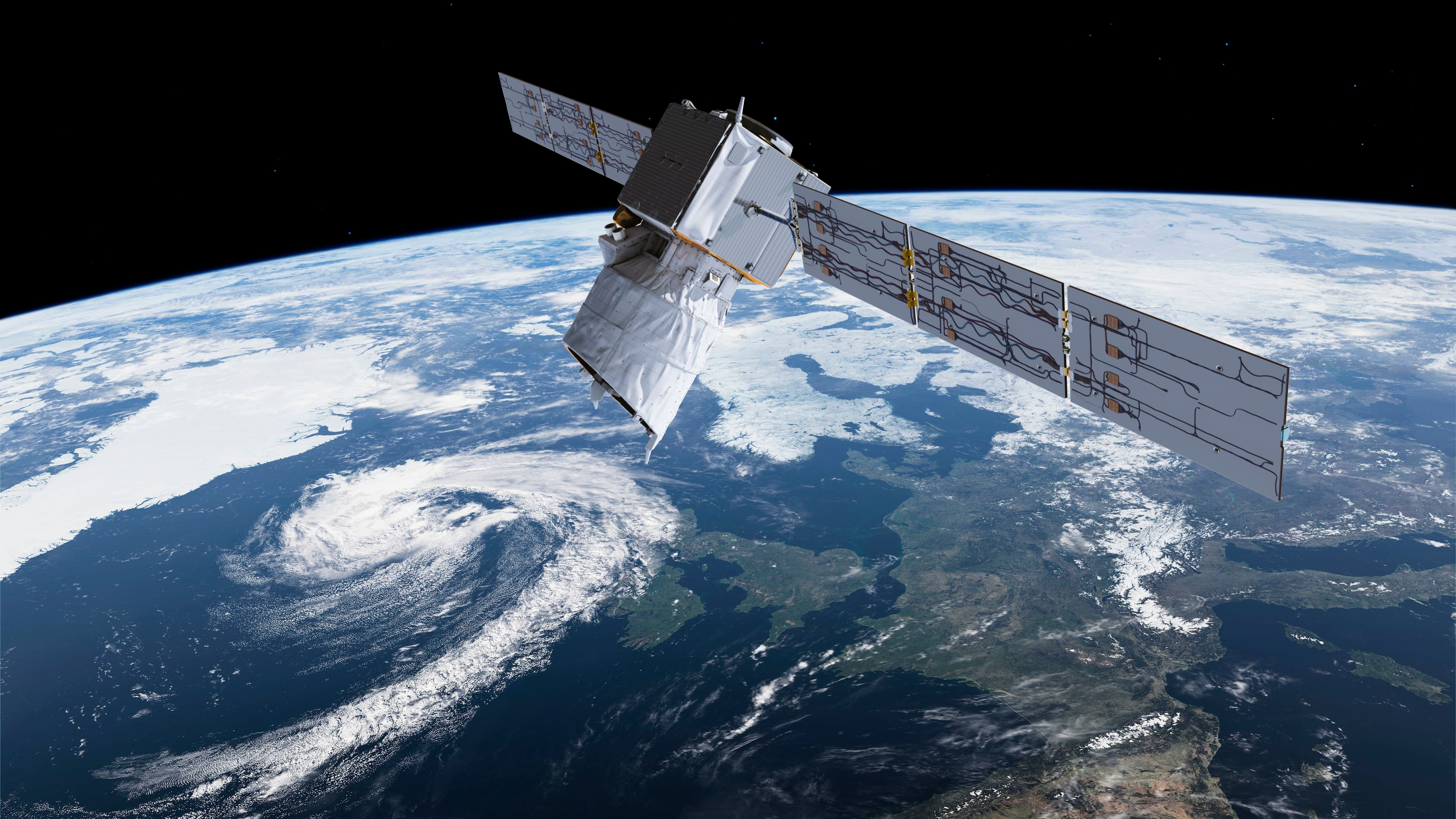 UK-Built Aeolus Satellite Is Going To Significantly Improve Weather