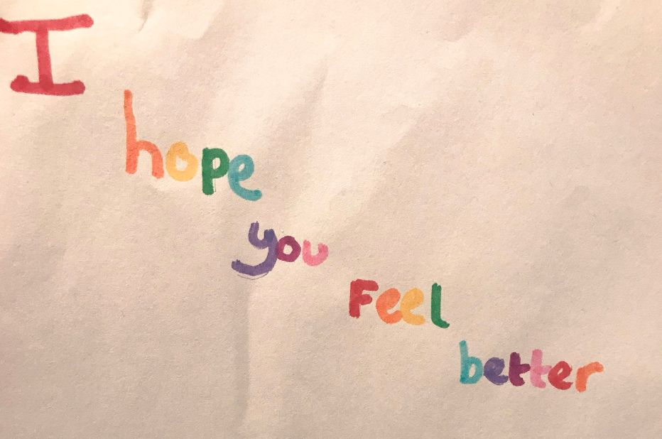 Nine-Year-Old's Adorable Note For Big Sister Who Was 'Sad' Will Melt Your