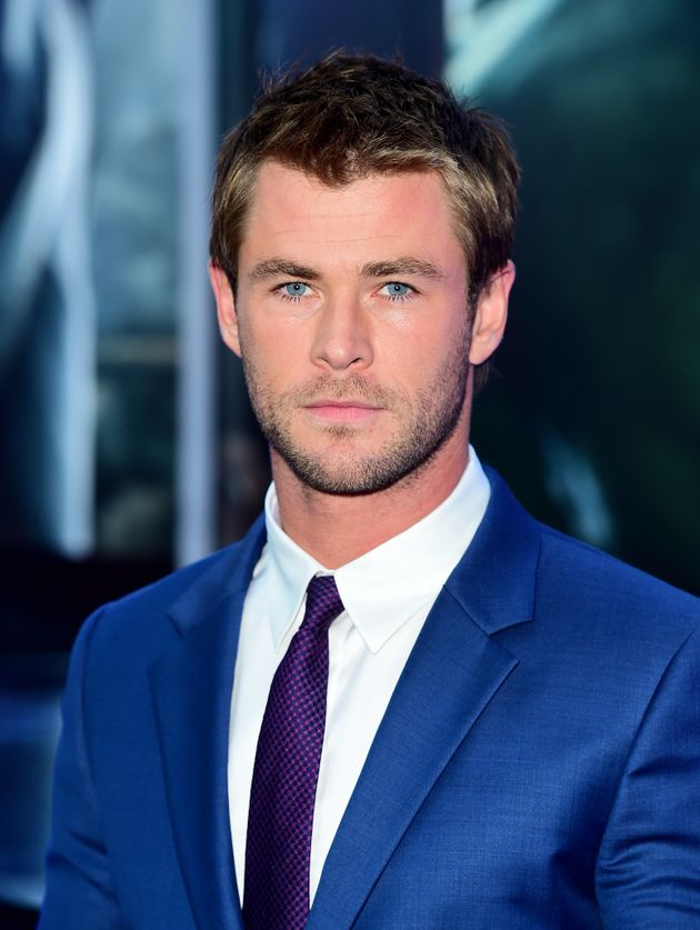 Chris Hemsworth who plays Thor in the Marvel superheroes universe was fourth on the
