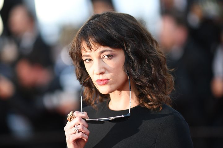 Asia Argento on May 19 at the Cannes Film Festival in France.