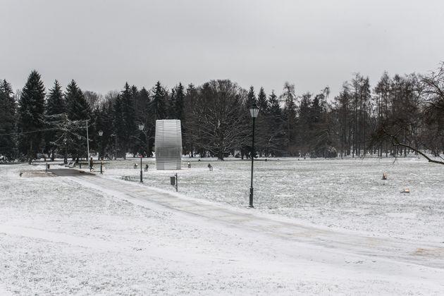 폴란드 크라쿠프에 설치한 스모그 프리