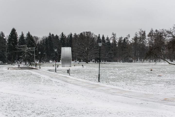 폴란드 크라쿠프에 설치한 스모그 프리 타워.