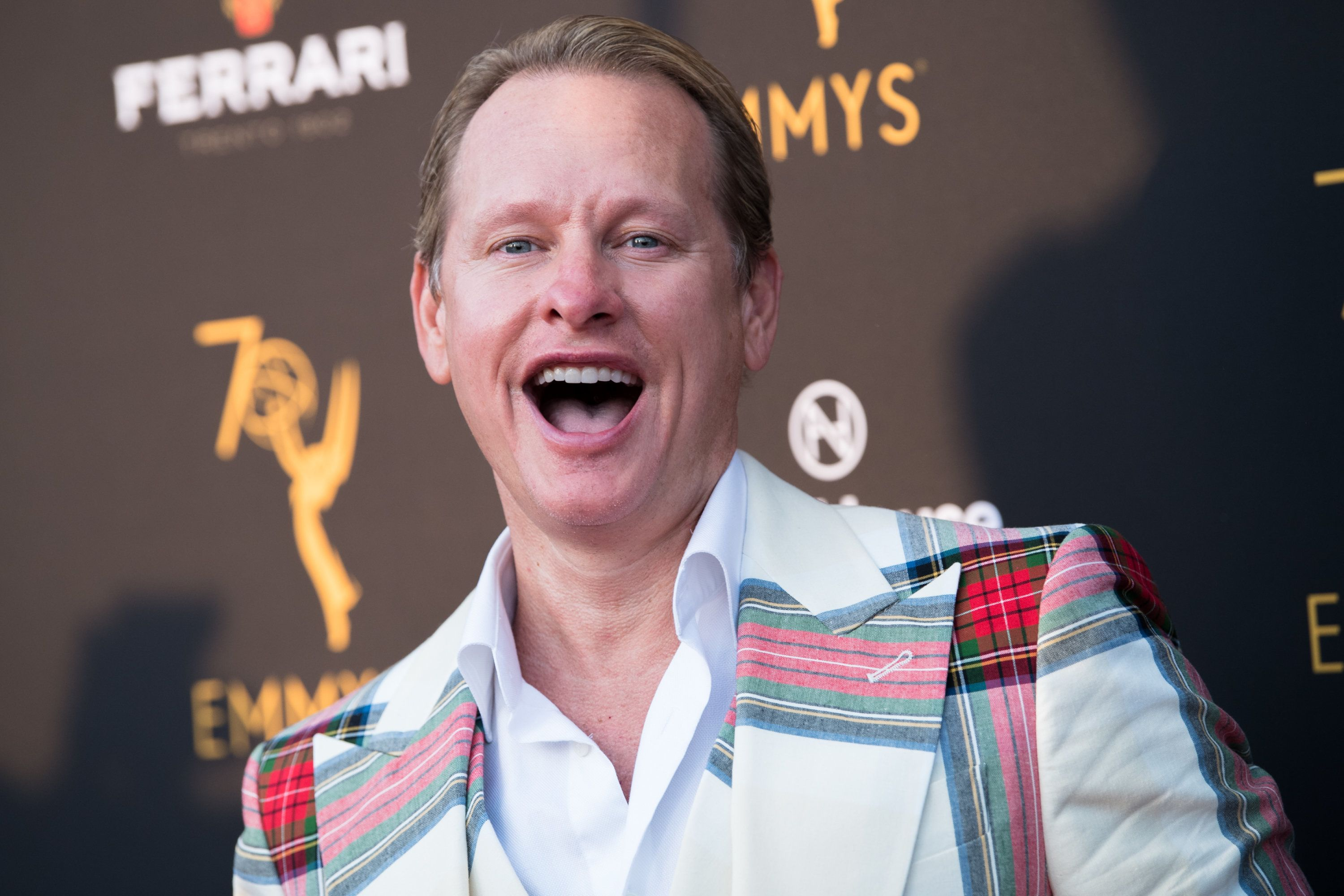 LOS ANGELES, CA - AUGUST 20:  Carson Kressley attends the Television Academy's Performers Peer Group Celebration at NeueHouse Hollywood on August 20, 2018 in Los Angeles, California.  (Photo by Emma McIntyre/Getty Images)