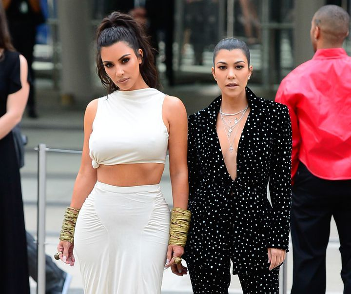 "Kim Kardashian and Kourtney Kardashian can't stop fighting on this season of ""Keeping Up."""