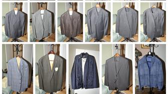 Jackets included in the government's exhibits admitted into evidence, at the trial of President Donald Trump's former campaign chairman Paul Manafort, are seen in this combination image of pictures released from Special Counsel Robert Mueller's office in Washington, DC, U.S. on August 1, 2018.    Courtesy Special CounselÕs Office/Handout via REUTERS   ATTENTION EDITORS - THIS IMAGE HAS BEEN SUPPLIED BY A THIRD PARTY. THIS PICTURE WAS PROCESSED BY REUTERS TO ENHANCE QUALITY. UNPROCESSED VERSIONS HAVE BEEN PROVIDED SEPARATELY