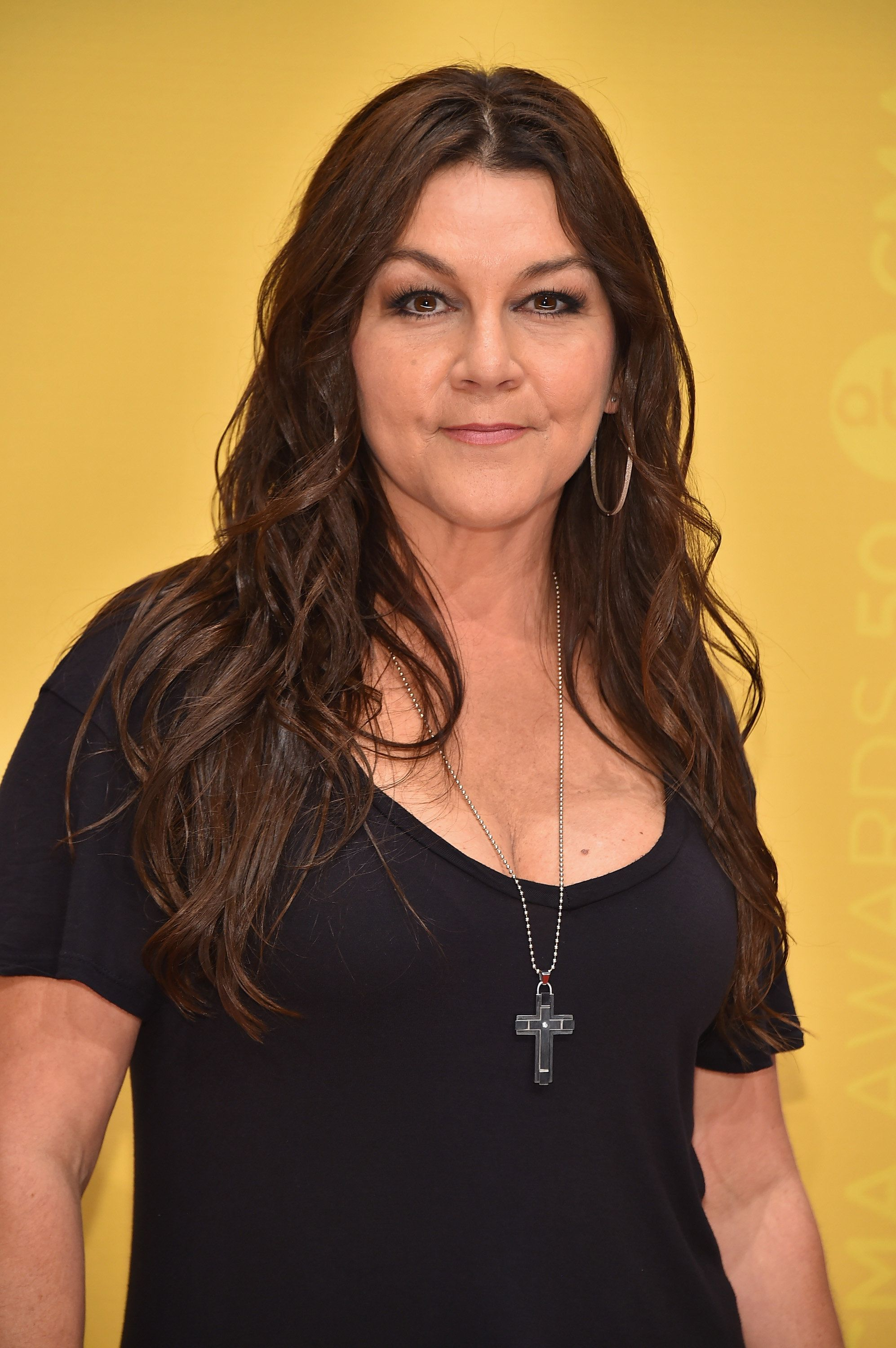 NASHVILLE, TN - NOVEMBER 02:  Musical artist Gretchen Wilson attends the 50th annual CMA Awards at the Bridgestone Arena on November 2, 2016 in Nashville, Tennessee.  (Photo by Michael Loccisano/Getty Images)