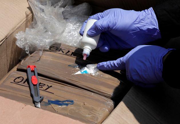 Μεξικό: Κατάσχεση 725 κιλών κοκαΐνης πάνω σε πλεούμενο στον