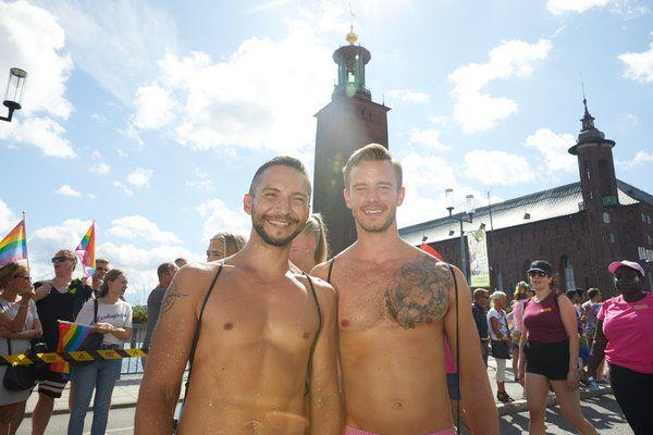 스톡홀름과 고텐버그가 함께 개최한 '유로 프라이드 2018'은