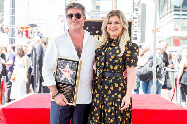 Kelly Clarkson gave a speech about her former