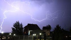 Wetter: Hier drohen starke Gewitter mit Hagel und