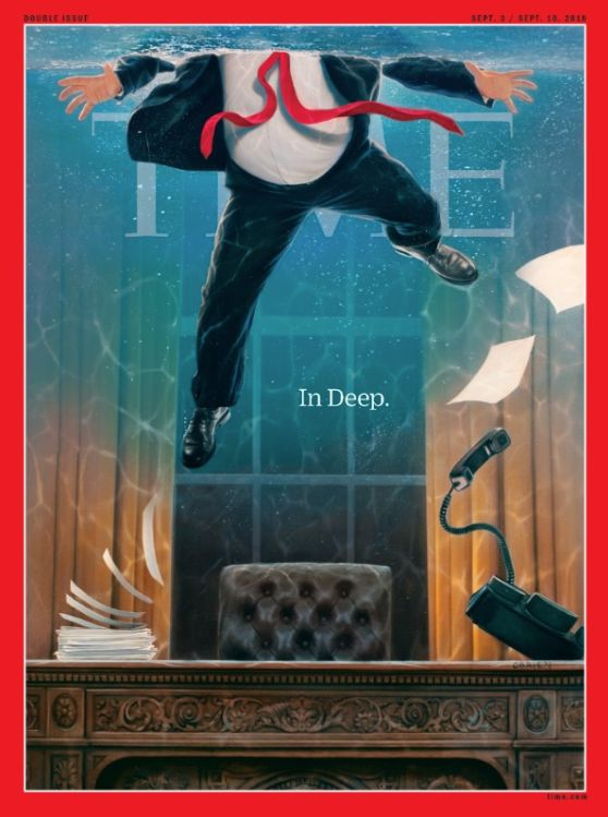 Donald Trump Is 'In Deep' On Time Magazine's Latest Scathing