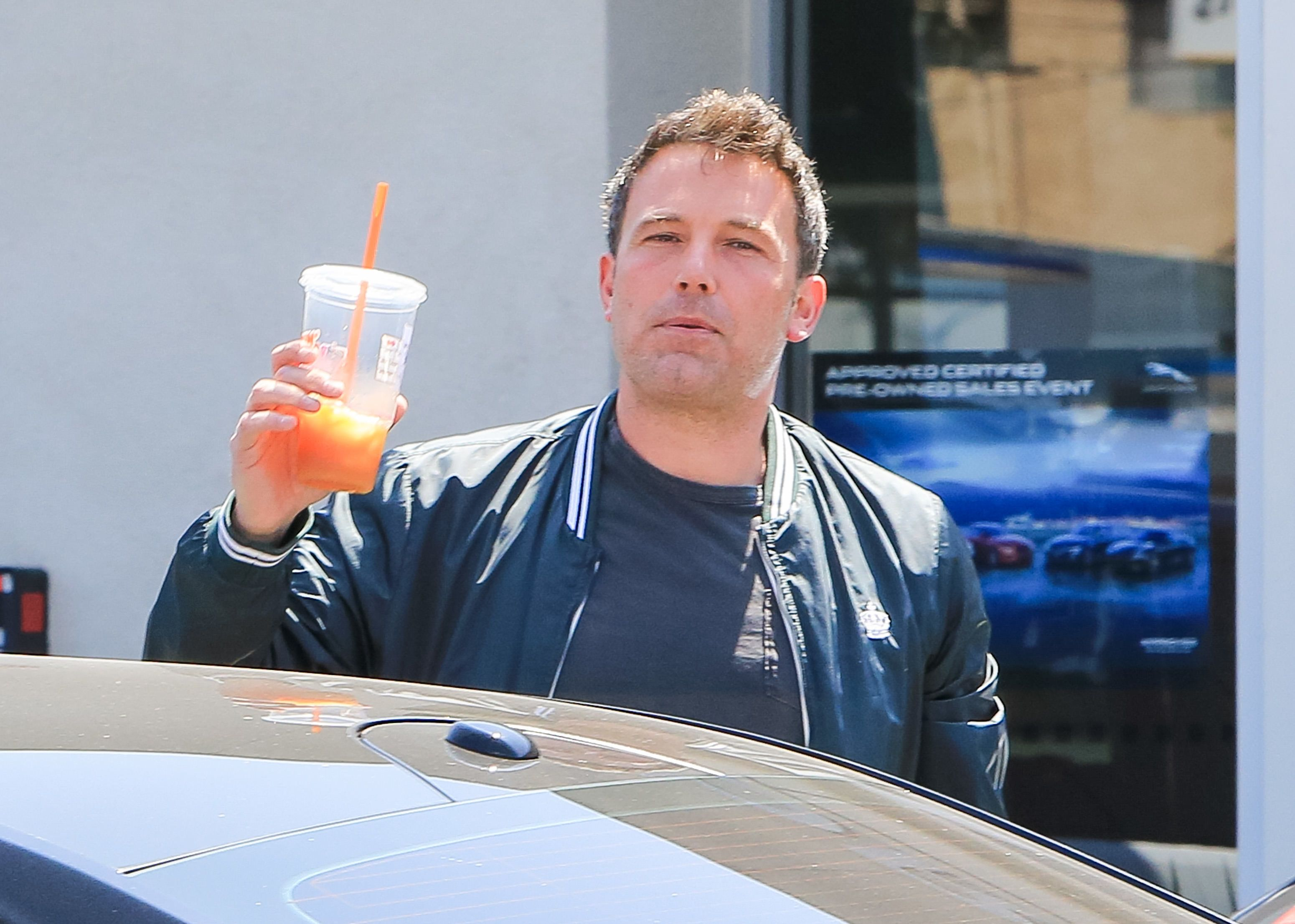 LOS ANGELES, CA - AUGUST 15: Ben Affleck is seen on August 15, 2018 in Los Angeles, California.  (Photo by BG004/Bauer-Griffin/GC Images)